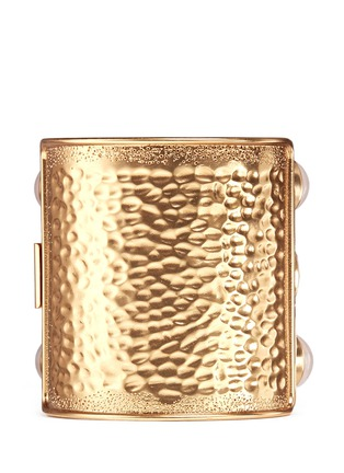 Back View - Click To Enlarge - J.CREW - Wide crystal cuff bracelet