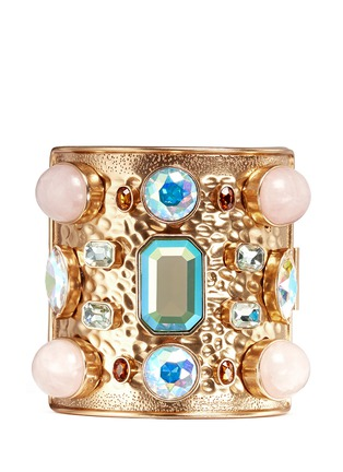 Main View - Click To Enlarge - J.CREW - Wide crystal cuff bracelet