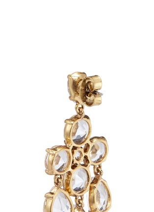 Detail View - Click To Enlarge - J.CREW - Cascading glass earrings