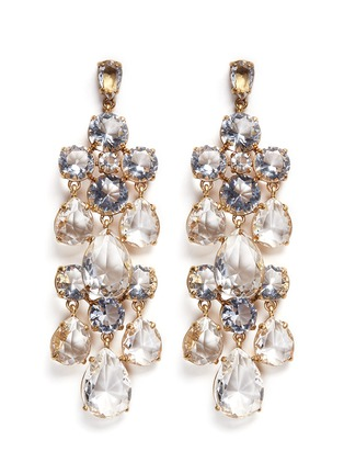 Main View - Click To Enlarge - J.CREW - Cascading glass earrings