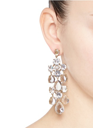 Figure View - Click To Enlarge - J.CREW - Cascading glass earrings