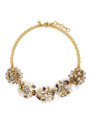 Main View - Click To Enlarge - J.CREW - Jeweled geometric necklace