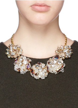 Figure View - Click To Enlarge - J.CREW - Jeweled geometric necklace