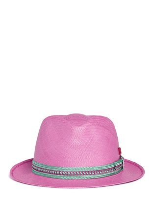 Main View - Click To Enlarge - My Bob - '24 Hours' braided band Panama hat