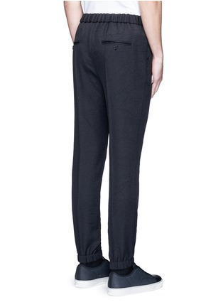 Back View - Click To Enlarge - MARNI - Tailored jogging pants