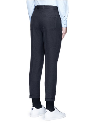Back View - Click To Enlarge - Marni - Slim fit rolled cuff pants