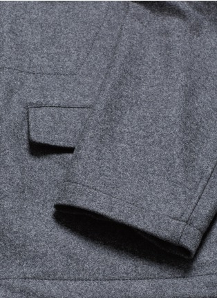- MARNI - Reversible pinstripe patchwork wool flannel blazer