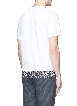 Back View - Click To Enlarge - Marni - Floral print cotton T-shirt