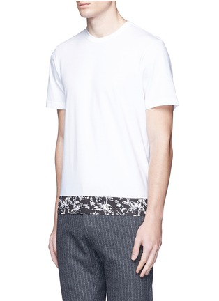 Front View - Click To Enlarge - Marni - Floral print cotton T-shirt