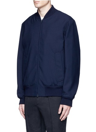 Front View - Click To Enlarge - Marni - Wool gabardine bomber jacket