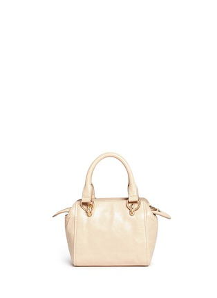 Back View - Click To Enlarge - See by Chloé - 'Paige' mini smudged leather crossbody bag