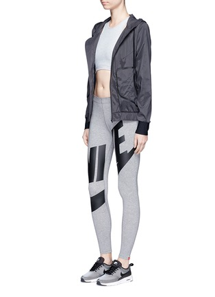 Figure View - Click To Enlarge - Nike - 'Leg-A-See Exploded' logo print leggings