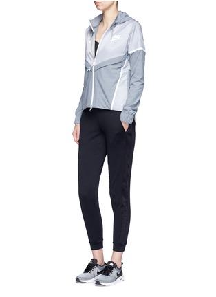 Figure View - Click To Enlarge - Nike - 'Bonded Windrunner' colourblock zip jacket