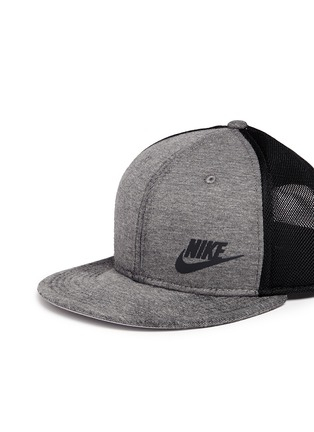 Front View - Click To Enlarge - Nike - 'Tech Pack True' mesh jersey baseball cap