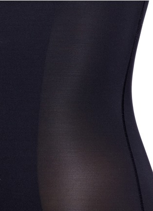 Detail View - Click To Enlarge - SPANX BY SARA BLAKELY - 'Thinstincts' open bust mid thigh bodysuit
