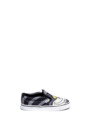 Main View - Click To Enlarge - Vans - x Disney 'Classic' Chesire Cat print canvas toddler slip-ons