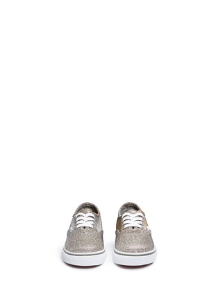 Figure View - Click To Enlarge - Vans - 'Authentic' glitter textile toddler sneakers