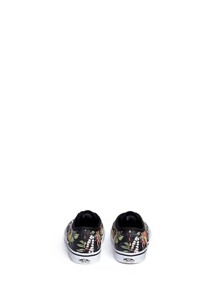 Back View - Click To Enlarge - Vans - x Disney 'Authentic' The Jungle Book print canvas toddler sneakers