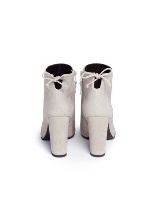 Back View - Click To Enlarge - Stuart Weitzman - 'Grandiose' suede ankle boots