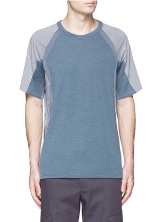Main View - Click To Enlarge - Adidas By White Mountaineering - Patchwork T-shirt