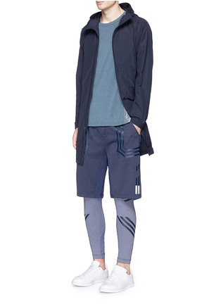 Figure View - Click To Enlarge - ADIDAS BY WHITE MOUNTAINEERING - Patchwork tights