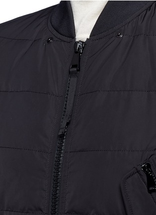 Detail View - Click To Enlarge - Moncler - 'Agathe' hooded quilted down jacket