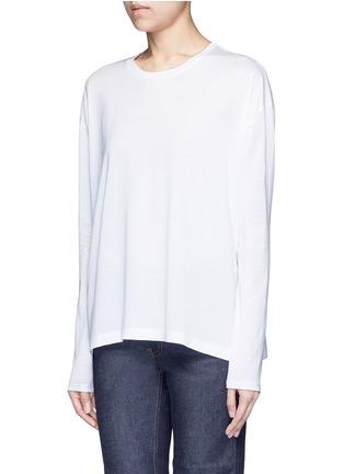 Front View - Click To Enlarge - Acne Studios - 'Denya' cotton sweatshirt