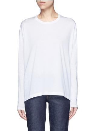 Main View - Click To Enlarge - Acne Studios - 'Denya' cotton sweatshirt
