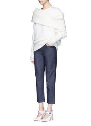 Figure View - Click To Enlarge - Acne Studios - 'Denya' cotton sweatshirt