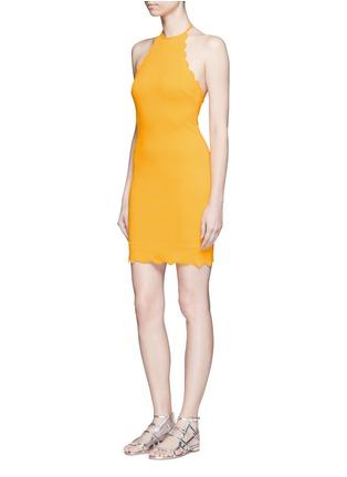 Figure View - Click To Enlarge - Marysia - 'Mott' scalloped halterneck dress