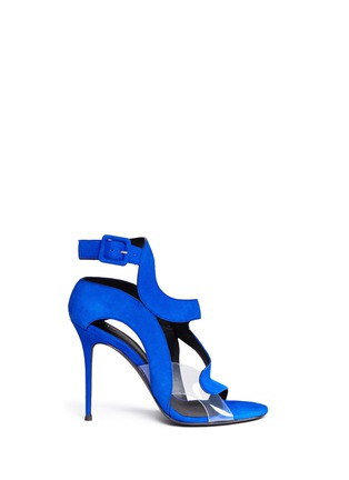 Main View - Click To Enlarge - Giuseppe Zanotti Design - 'Summer' cutout suede sandals