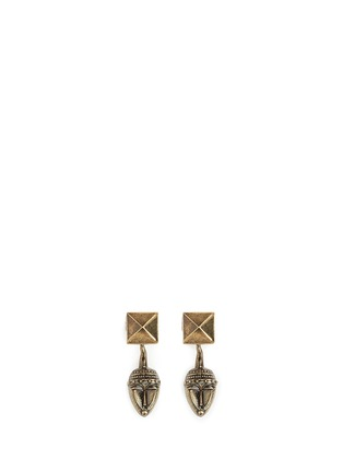 Main View - Click To Enlarge - Valentino - Tribal mask earrings