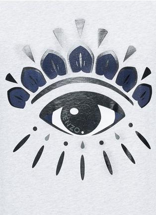 Detail View - Click To Enlarge - KENZO - Eye print T-shirt