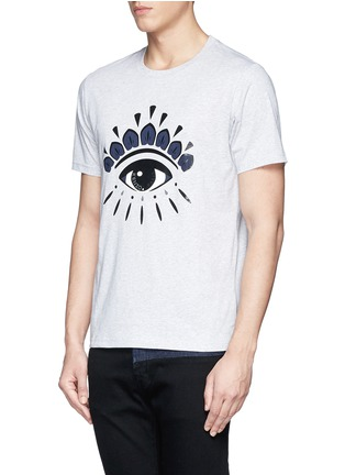 Front View - Click To Enlarge - KENZO - Eye print T-shirt