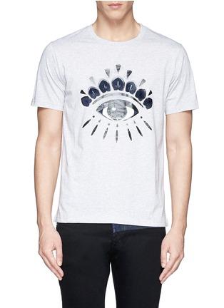 Main View - Click To Enlarge - KENZO - Eye print T-shirt