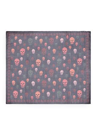 Main View - Click To Enlarge - Alexander McQueen - Bicolour skull silk scarf