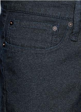 Detail View - Click To Enlarge - DENHAM - 'Crop TBS' denim pants