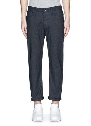 Main View - Click To Enlarge - DENHAM - 'Crop TBS' denim pants