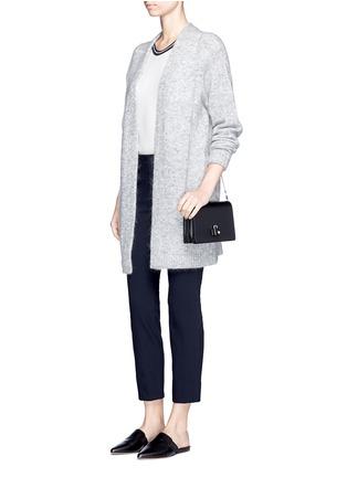 Figure View - Click To Enlarge - VINCE - Slim fit cotton blend pants