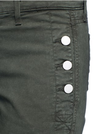 Detail View - Click To Enlarge - J Brand - 'Zion' mid rise skinny pants