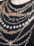 Detail View - Click To Enlarge - Alexander McQueen - Obsession print T-shirt