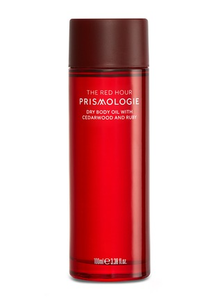Main View - Click To Enlarge - Prismologie - The Red Hour Ruby & Cedarwood Dry Body Oil 100ml