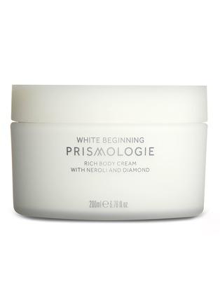 Main View - Click To Enlarge - PRISMOLOGIE - White Beginning Diamond & Neroli Rich Body Cream 200ml