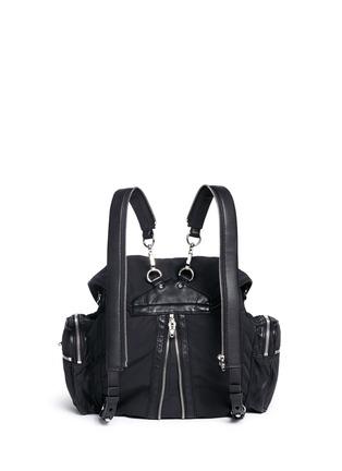 Back View - Click To Enlarge - Alexander Wang  - Marti' nylon three-way backpack