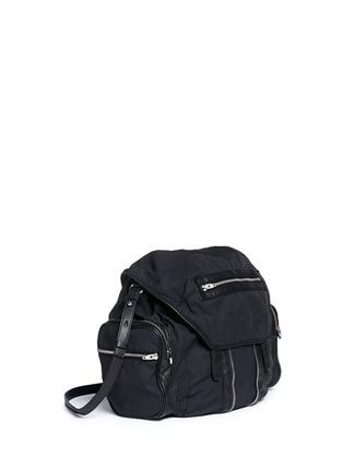 Front View - Click To Enlarge - Alexander Wang  - Marti' nylon three-way backpack