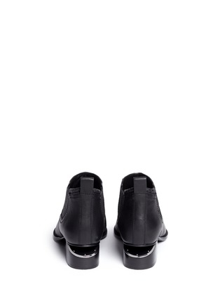 Back View - Click To Enlarge - Alexander Wang  - Kori' cutout heel leather ankle boots