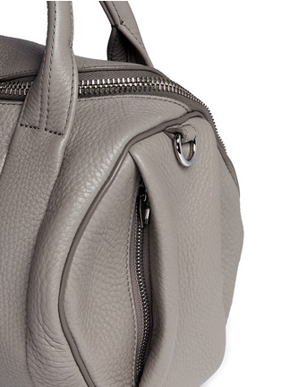 Detail View - Click To Enlarge - Alexander Wang  - 'Rockie' pebbled leather duffle bag