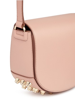 Detail View - Click To Enlarge - Alexander Wang  - Lia' mini leather saddle sling bag