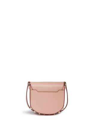 Back View - Click To Enlarge - Alexander Wang  - Lia' mini leather saddle sling bag