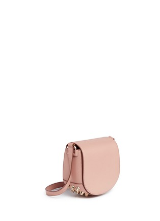 Front View - Click To Enlarge - Alexander Wang  - Lia' mini leather saddle sling bag